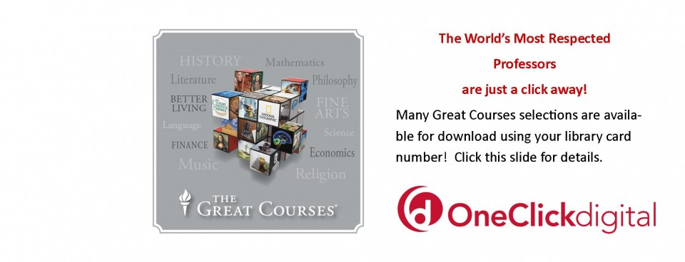 Great Courses One Click
